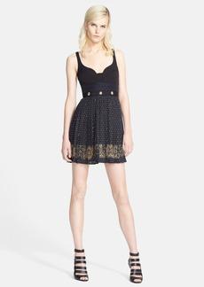 Versace Collection Stud Detail Dress