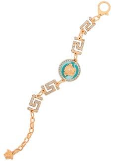 Versace Crystal-embellished gold-tone bracelet