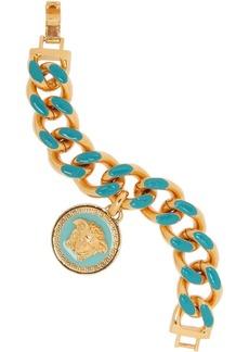 Versace Gold-tone enamel bracelet