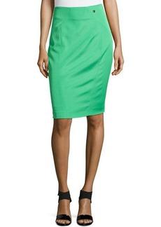 Versace Knee-Length Pencil Skirt, Grass Green