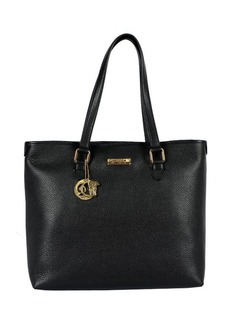 Versace Large Tote with Logo Key