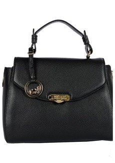 Versace Leather Ladies Satchel Handbag