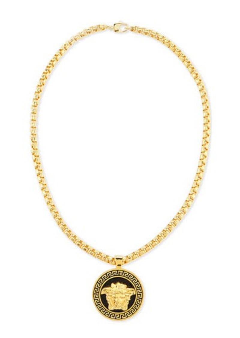 Versace Versace Men's Medallion Chain Necklace Men's ...