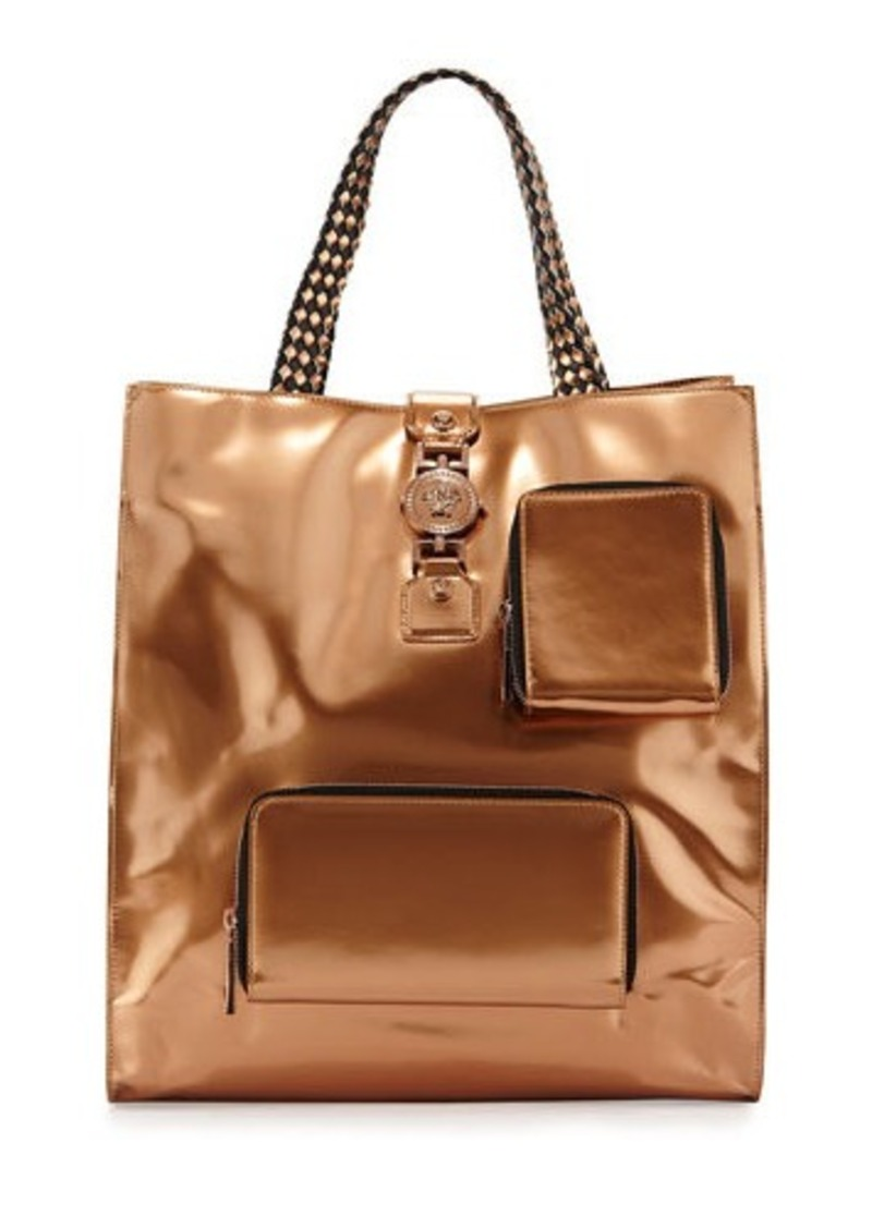 Men's Versace Bags Known around the world for its signature high octane fashion offerings that have wowed its elite clientele since , Versace is an Italian luxury brand that was founded by iconic designer Gianni Versace and is now headed up by his sister Donatella.
