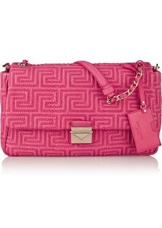 Versace Quilted elaphe shoulder bag