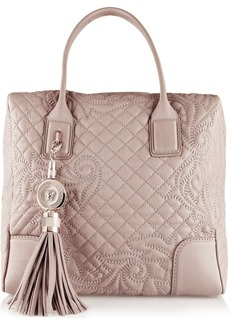 Versace Quilted leather tote