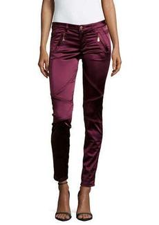 Versace Slim-Fit Pieced Stretch Jeans