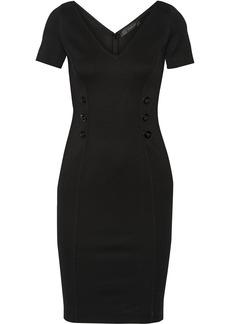 Versace Textured stretch-knit dress