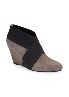 Via Spiga 'Adela' Suede Wedge Bootie (Women)