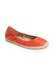 Via Spiga 'Arnelia' Leather Espadrille Flat (Women)