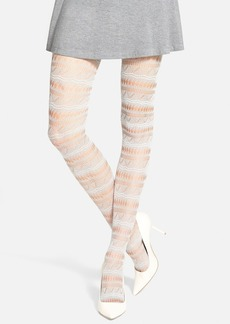 Via Spiga 'Calm Waters' Openwork Tights