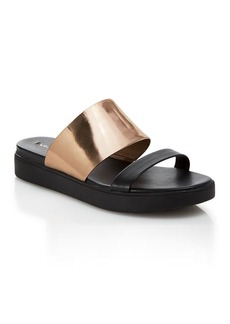 Via Spiga Carita Flat Slide Sandals