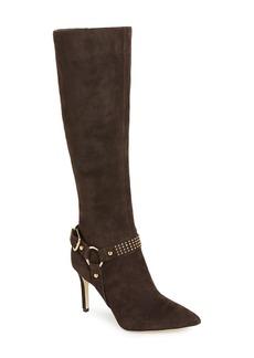 Via Spiga 'Cinda' Studded Halter Strap Knee High Boot (Narrow Calf) (Women)