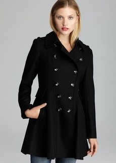 Via Spiga Coat - Double-Breasted Wool