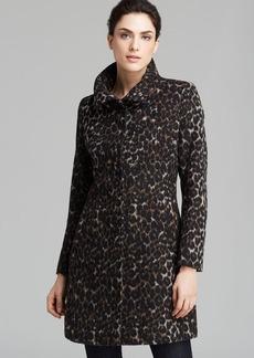 Via Spiga Coat - Leopard Print Walker