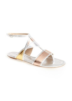 Via Spiga 'Dafina' Flat Leather Sandal (Women)