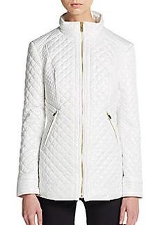 Via Spiga Diamond Quilted Puffer Jacket