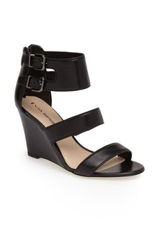 Via Spiga 'Fernanda' Wedge Leather Sandal (Women)