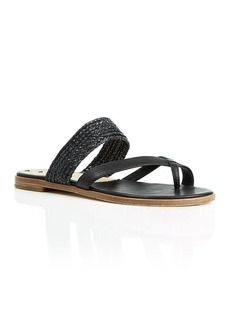 Via Spiga Flat Sandals - Tamina Braided Slide