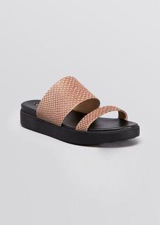 Via Spiga Flat Slide Sandals - Carita