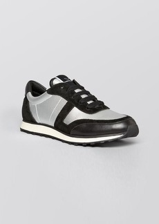 Via Spiga Lace Up Sneakers - Haisley