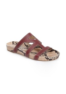 Via Spiga 'Londa' Leather Slide Sandal (Women)