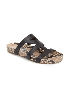 Via Spiga 'Londa' Leather Slide Sandal (Women)