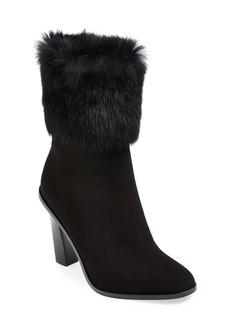 Via Spiga 'Maddyn' Genuine Rabbit Fur Trim Boot (Women)