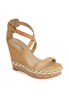 Via Spiga 'Moss' Studded Platform Wedge Sandal (Women)