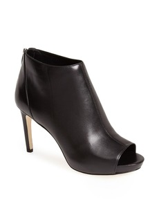 Via Spiga 'Nessa 2' Leather Open Toe Bootie (Women)