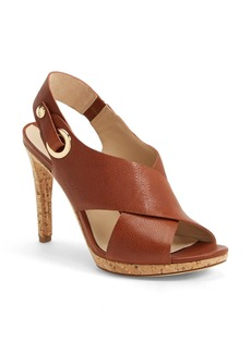 Via Spiga 'Onitta' Leather Slingback Sandal (Women)
