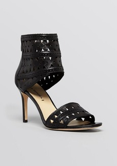 Via Spiga Open Toe Ankle Strap Platform Sandals - Vanka High Heel