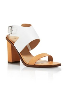 Via Spiga Open Toe Ankle Strap Sandals - Belia High Heel