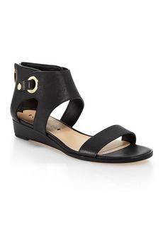 Via Spiga Open Toe Demiwedge Sandals - Vadina