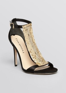 Via Spiga Open Toe Evening Sandals - Timone High Heel