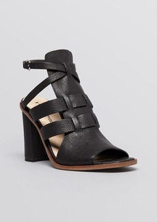 Via Spiga Open Toe Platform Sandals - Brandina High Heel