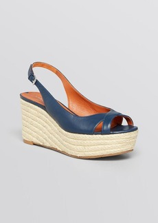 Via Spiga Open Toe Platform Wedge Espadrille Sandals - Luciana