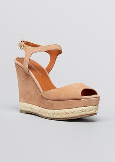 Via Spiga Open Toe Platform Wedge Sandals - Melia