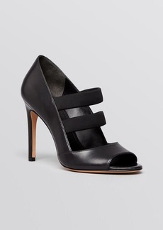 Via Spiga Open Toe Sandals - Ettie High Heel