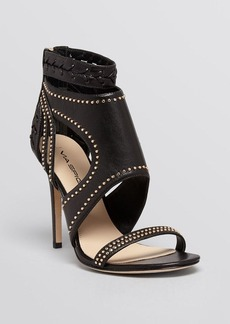 Via Spiga Open Toe Studded Sandals - Taletha High Heel