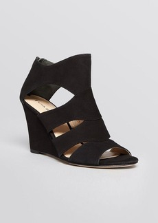 Via Spiga Open Toe Wedge Sandals - Fion