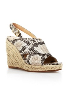 Via Spiga Platform Wedge Espadrille Sandals - Bloomingdale's Exclusive Rosette