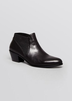 Via Spiga Pointed Toe Booties - Cleone