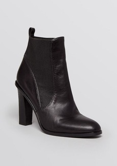 Via Spiga Pointed Toe Booties - Malia High Heel