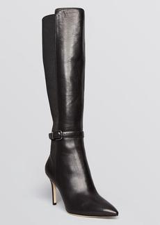 Via Spiga Pointed Toe Boots - Calandra High Heel