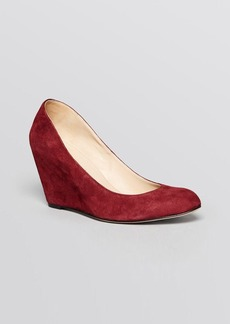 Via Spiga Pointed Toe Wedge Pumps - Darby High Heel