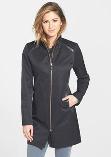 Via Spiga Shoulder Detail Stand Collar Coat