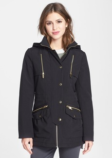 Via Spiga Soft Shell Anorak with Removable Hood (Online Only)