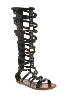 Via Spiga 'Sumner' Knee High Leather Gladiator Sandal (Women)
