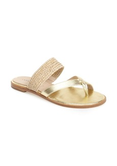 Via Spiga 'Tamina' Leather Toe Loop Sandal (Women)